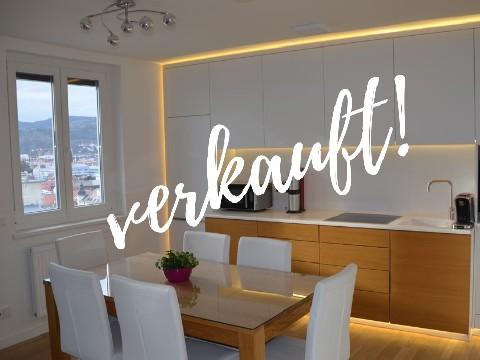 Top moderne Stadtwohnung mit herrlichem Ausblick!
