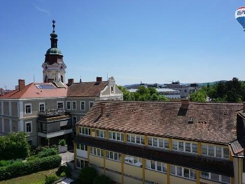 Zentrumsnahe Wohnung mit Steinertor-Blick