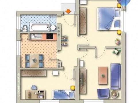 3 ZI Eigentumswohnung