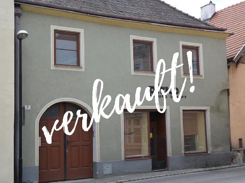 Kleines Wohn/ Geschäftshaus mit Garten im Stadtkern von Mautern