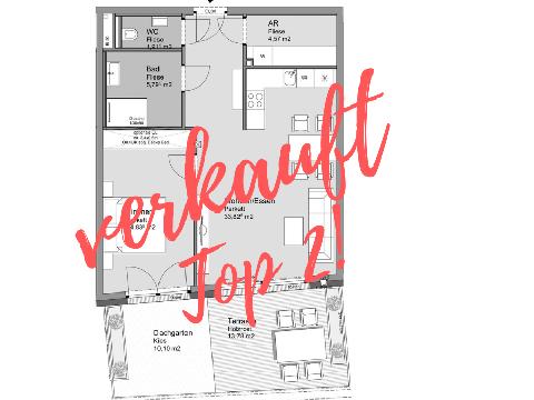 0% Käuferprovision! Attraktive Neubau-Wohnung mit Göttweig-Blick - TOP 2