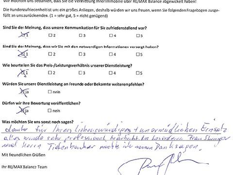 Leistungsbeurteilung - Fragebogen von Herrn Bruckner!, 15.02.2018